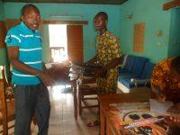 Le Délégué Général des ReBI@P et Mohamed le chauffeur